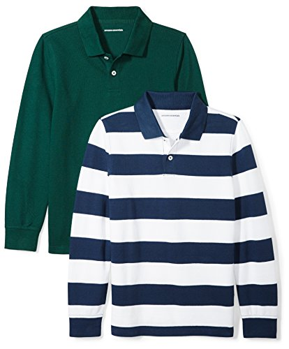 Clothes Back To School - Amazon Essentials Toddler Boys' 2-Pack Long-Sleeve
