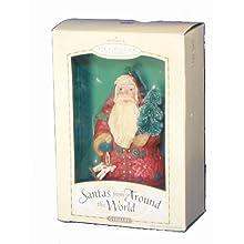 Hallmark Keepsake Christmas Ornament Santas From Around the World - Germany - Designed and Sculpted by Linda Sickman