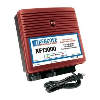 Amazon Com Kencove 13 0 Joule Low Impedance 110 Volt Ac Electric Fence Charger Industrial Amp Scientific