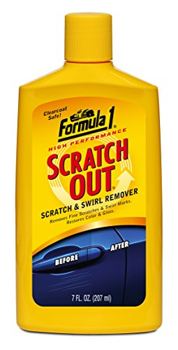 Formula 1 Car Polish - Formula 1 Scratch Out - Scratch Remover for All Auto Paint Finishes - 7 oz. Liquid Wax, 615011