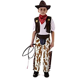 Meeyou Little Boys' Wild West Cowboy costume,L