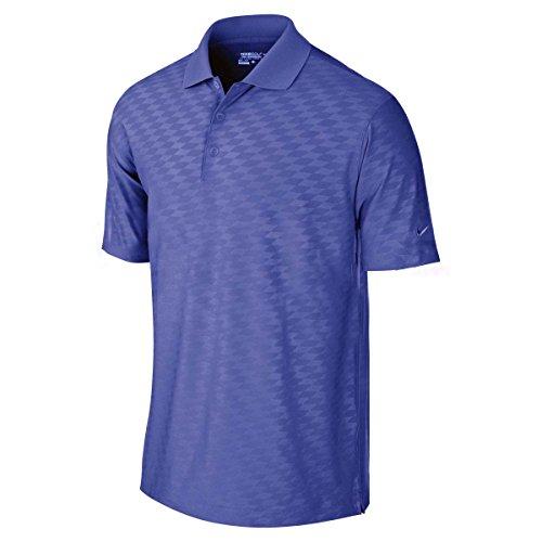 Nike Men's Dri-Fit Embossed Golf Polo - Nike T-shirt Embossed