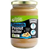 Absolute Organic Peanut Butter Smooth, 350g