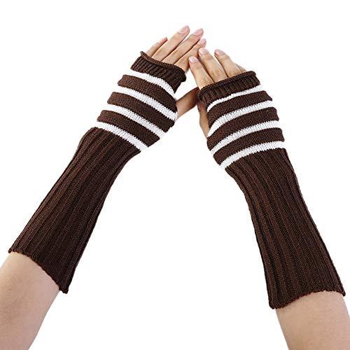modernes Design später abwechslungsreiche neueste Designs Damen Mädchen Winter Armstulpen Armwärmer Gestrickte ...