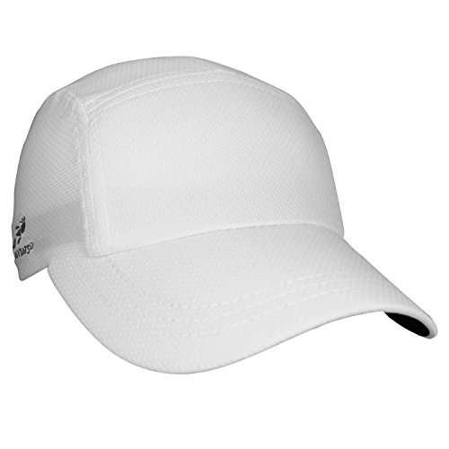 (Timex Headsweats Performance Race/Running/Outdoor Sports Hat, White)