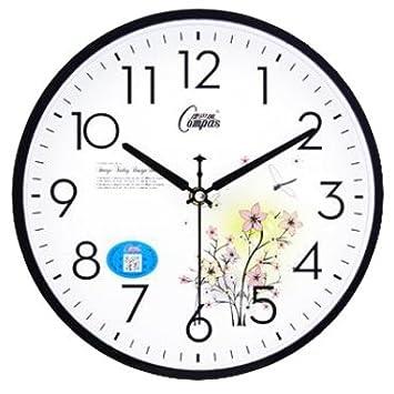 Cgghy 10 Inch Wall Clock 25 5 Cm In Diameter Modern Simple Circular Hanging Living