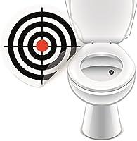 Higi/énico pegatinas Sets para inodoro de platillos y PISSOIR para una mayor Higiene y segura y tomar 20 x Bierglas Toilettensticker 200