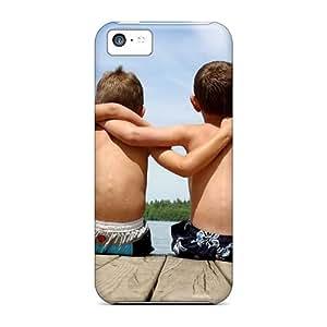 DavidLPenton TdRpgOK141dGhaW Case Cover Skin For Iphone 5c (children Summer Beach Friendship)