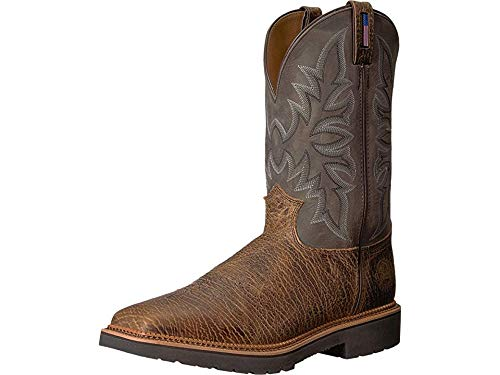 Justin Men's Scottsbluff Soft Toe Cimarron Apache/Grey 11 D US ()