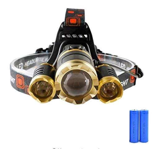 (1 Set 30W 4 Mode CREE XM-L T6 LEDs Headlamp Ultra Xtreme Waterproof Headlights Eloquent Fashionable High Lumen Lumens Bright Light Hiking Running Hunting Camping Tactical Flashlight, Type-02)
