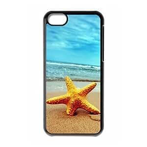 Starfish Cheap Custom 3D Cell Phone Case Cover for iPhone 5C, Starfish iPhone 5C 3D Case