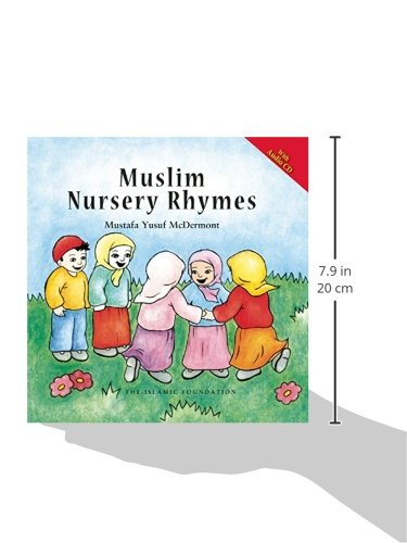 Muslim Nursery Rhymes (with Audio CD) by The Islamic Foundation (Image #1)