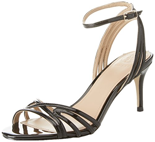 Guess Footwear Dress Sandal, Escarpins Bride Cheville Femme, Noir Noir