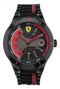 Ferrari Scuderia REDREV Black Mens Watch 0830265