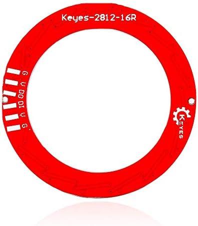 ZHANGJINPING WS2812 16 Bits Pleine Couleur RVB Conseil Circulaire Module