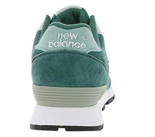 New Balance 576Mujeres Reales de Piel Zapatillas Verde w576pmm Fabricado EN Inglaterra