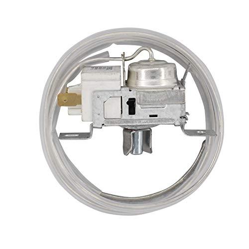(ApplianPar 2198202 Refrigerator Temperature Thermostat Cold Control for Whirlpool Kenmore Roper Sears Fridge 2161284 2198201 AP3037004 PS329884)