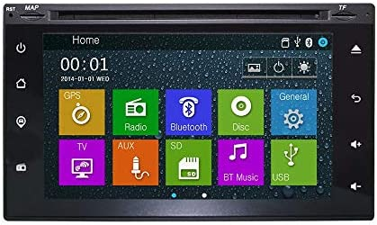 Amazon.com: OTTONAVI Nissan Frontier 2001-2008 OEM Replacement In Dash Double Din GPS Navigation Bluetooth Touchscreen Radio (Includes 1 Year Warranty): GPS ...