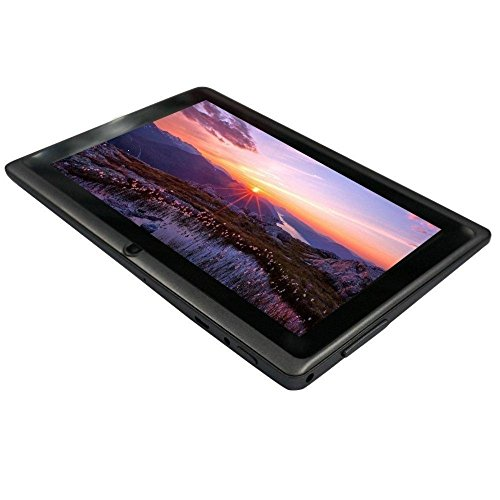 OUKU 7 Inch Android 4.2 Jelly Bean OS Tablet PC MID with 5-Point Capacitive Touchscreen, 512MB Ram, 4G Storage, Allwinner A23 Dual Core CPU, DDR3, 1.2GHz, Wi-Fi,Support 32GB, PC PAD Black