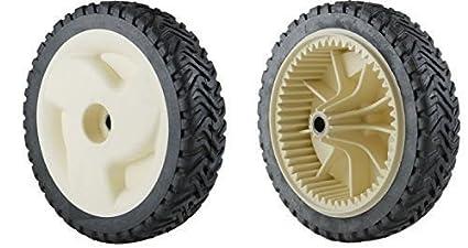 Amazon.com: Conjunto de 2 ruedas de ruedas, reemplazar Toro ...