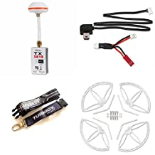 Walkera QR X350 PRO FPV 5.8Ghz Video TX FPV Transmitter for Camera First Person Propeller Guard PRO-Z-21 Protection Cover Guard Video Cable for Transmitter and Camera TURNIGY Transmitter Neck Strap La
