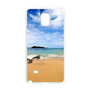 Beach Wholesale DIY Cell Phone Case Cover for Samsung Galaxy Note 4, Beach Galaxy Note 4 Phone Case