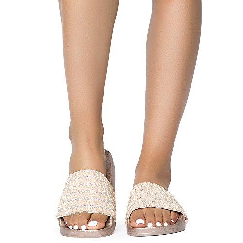 Bamboo Womens Cozy-192s Sandalo Sandalo Casual Rgdstn