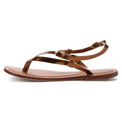 Bernardo Womens Merit Flat Sandal Bronze 9ntky0cJi