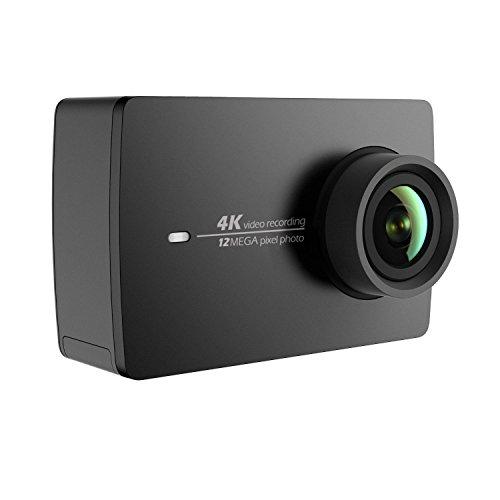YI 4K アクションカメラ スポーツカメラ ウェアラブルカメラ 155°広角レンズ JP版 オリジナル正規品 黒 90049の商品画像