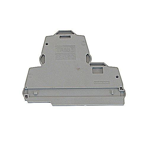 ABB Entrelec 1SNK 505 960 R0000 ES4-D2 End Section - Dark Grey