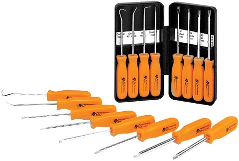 8 PC PICK /& DRIVER SET Manufacturer: MECHANICS TOOLS Actual parts may Manufacturer Part Number: W941-AD Stock Photo