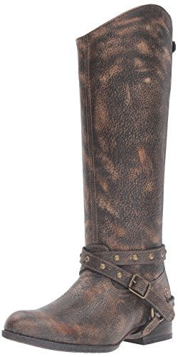 Ariat Womens Manhattan New West Brooklyn Brown