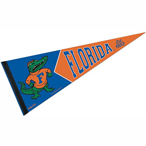 WinCraft Florida Gators Official NCAA 12 inch x 30 inch Premium Pennant by 991201