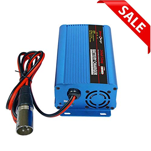 24V 5Amp Automatic Battery Charger With XLR Connector For Car Scooter...