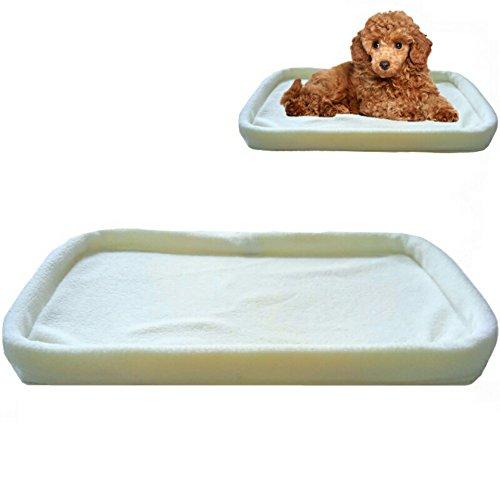 Mr. Peanut's Replacement Fleece Pad Designed for Pet Comfort (Replacement Fleece Pad, Cream)