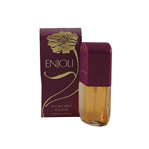 - Revlon Enjoli Concentrated Cologne Spray 0.6 Oz For Women, 2.88 Ounce