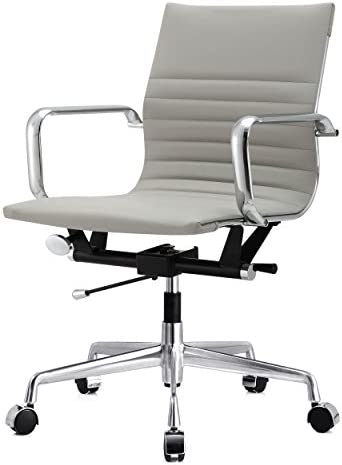 MEELANO M348 Office Chair, 33.93 x 23.4 x 22.23 , Grey