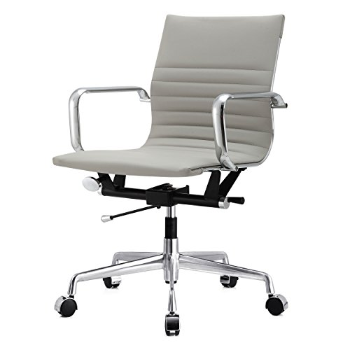 Meelano 348-GRY M348 Office Chair, 33.93