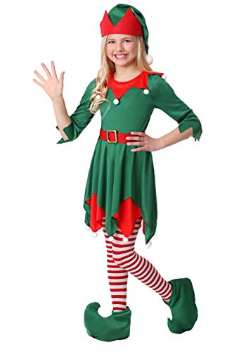 Girl's Santa's Helper Costume