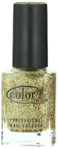 Color Club Mistletoe Glitters Nail Polish, Gold, Gingerbread.05 Ounce
