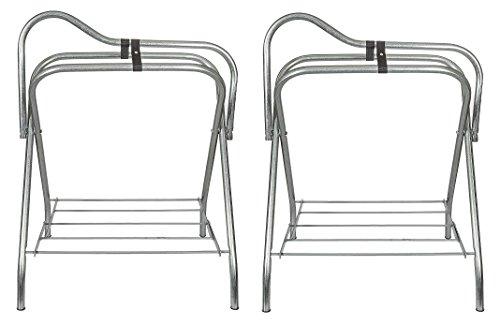 Intrepid International Folding Saddle Stand (Pack of 2) by Intrepid International