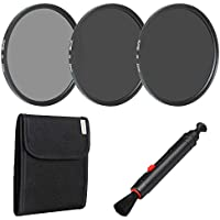 Zomei 82mm Camera Lens Neutral Density Filter Set Include ND2 ND4 ND8 + Lens Pen + Filter Pouch