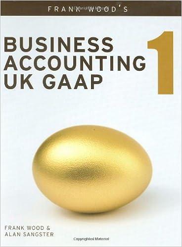 Business Accounting UK GAAP Volume 1: v. 1: Amazon.co.uk: Alan ...