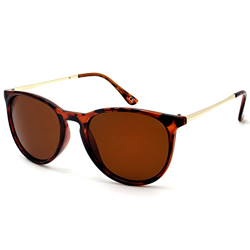 de hombres BE001 y Polarized mujeres Vintage sol UV400 Gafas Leopard para BLEVET q046vtWt
