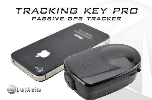 LandAirSea Magnetic Wireless Pocket-Sized GPS Tracking Key Pro System with BONUS Cigarette Lighter Adapter