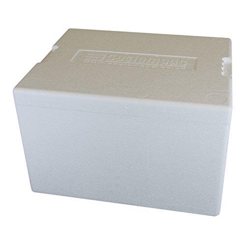 Caja de poliestireno de 34 litros. Hielera. Caja para pescado. Cantidad: 6: Amazon.es: Hogar