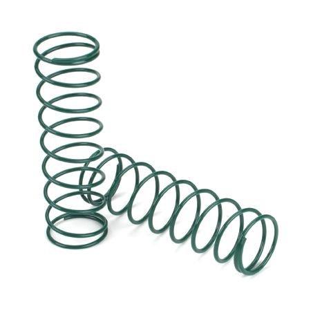 Losi 15mm Springs 3.1' x 3.1 Rate, Green: 8B, LOSA5458 ()