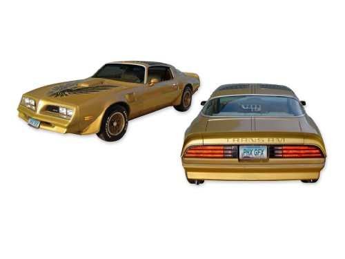 1978 1979 1980 Firebird Trans Am Special Edition Bandit ULTIMATE Decals Stripes Kit - BROWN