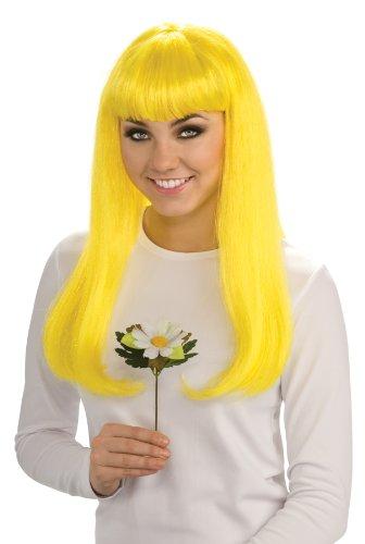 [The Smurfs Movie Costume Accessory, Smurfette Wig] (Smurf Costumes Accessories)