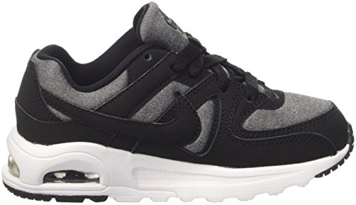 Nike Air Max Command Flex (Ps), Zapatillas de Running Niños Negro (Black / Black-White)
